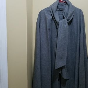 Jackets & Blazers - Vintage Wellington Wool Cape Coat